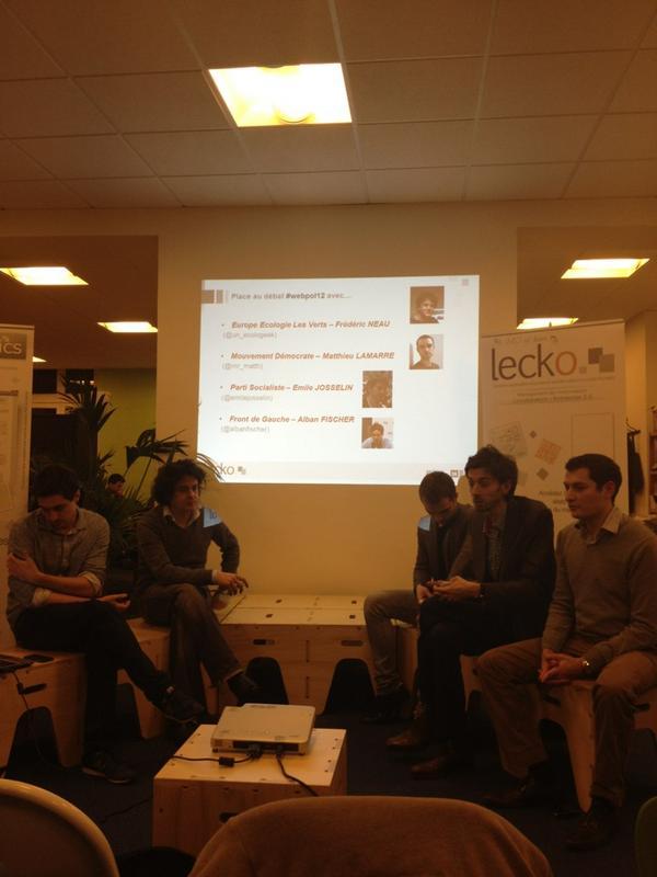 Les intervenants de #Webpol2012