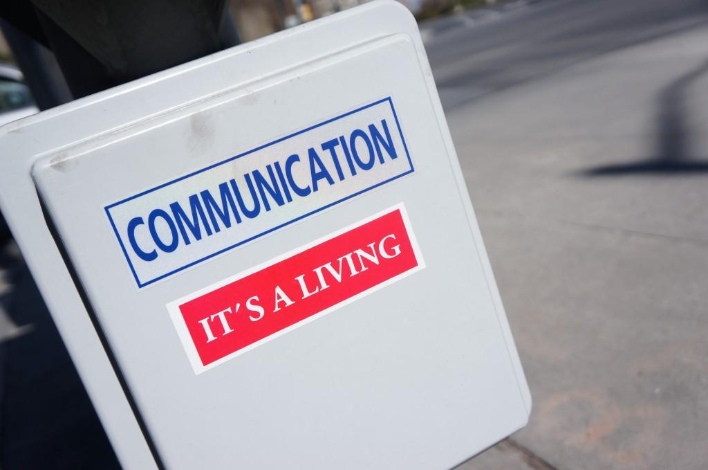 Communication, it's a living